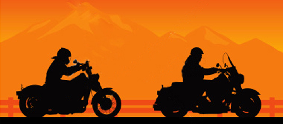 Motorcycle Riding Into Sunset | www.imgkid.com - The Image ...